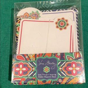 Vera Bradley Note Card Set w/mini pen
